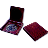 Rosewood Coin Box and Stand