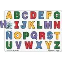 See-Inside Spanish Alphabet Peg Puzzle