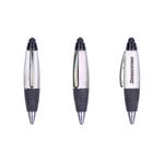 Mini UV Plating Plastic Ballpoint Pen with Stylus