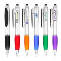 Multifunction Stylus Screen Cleaner Ballpoint Pen