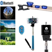 iBank®Selfie Stick+Bluetooth Shutter+Fisheye Lens