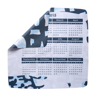 "Toddy Cloth Thin Calendar Microfiber Cleaning Cloth (8""x8"")"