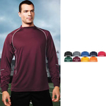 Thunderbolt Long Sleeve Piped Performance Tee