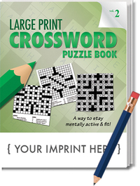 PUZZLE PACK, LARGE PRINT Crossword Puzzle Pack - Volume 2