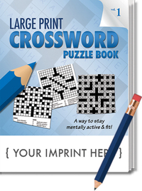PUZZLE PACK, LARGE PRINT Crossword Puzzle Set - Volume 1