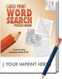 PUZZLE PACK, LARGE PRINT Word Search Puzzle Set - Volume 1