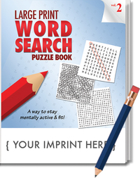 PUZZLE PACK, LARGE PRINT Word Search Puzzle Set - Volume 2