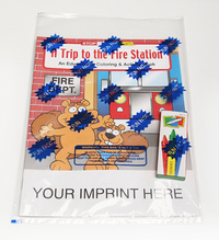 A Trip to the Fire Station Coloring Book Fun Pack