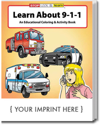 Learn About 9-1-1 Coloring and Activity Book