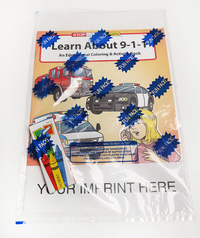 Learn About 9-1-1 Coloring and Activity Book Fun Pack