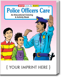 Police Officers Care Coloring and Activity Book