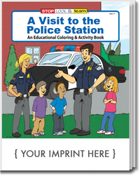 A Visit to the Police Station Coloring and Activity Book