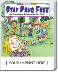 Stay Drug Free Coloring and Activity Book