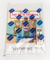 Be Smart Say No to Smoking Coloring Book Fun Pack