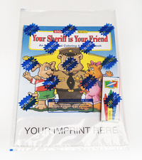 Your Sheriff is Your Friend Coloring Book Fun Pack