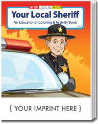 Your Local Sheriff Coloring and Activity Book