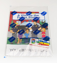 A Visit to the Police Station Coloring Book Fun Pack