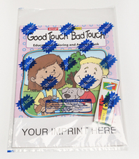 Good Touch Bad Touch Coloring and Activity Book Fun Pack