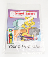 Internet Safety Coloring and Activity Book Fun Pack
