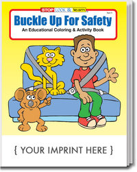 Buckle Up For Safety Coloring and Activity Book