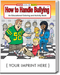 How to Handle Bullying Coloring and Activity Book