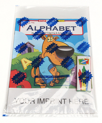 Fun with the Alphabet Coloring Book Fun Pack