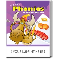 Fun with Phonics Coloring Book