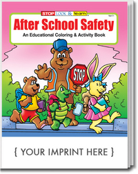 After School Safety Coloring and Activity Book