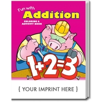Fun with Addition Coloring Book