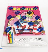 Fun with Addition Coloring Book Fun Pack