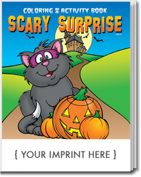 Scary Surprise Coloring and Activity Book