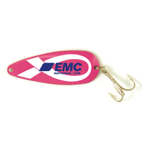 Breast Cancer Awareness Classic Spoon Fishing Lure