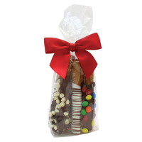 Chocolate Penny Rods - Mini Gift Bag