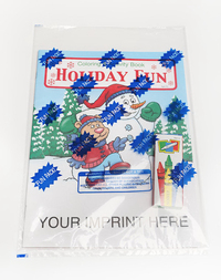 Holiday Fun Coloring and Activity Book Fun Pack