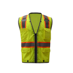 Class 2 Brilliant Safety Vest - Lime
