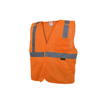 Class 2 Five Point BreakAway Safety Vest - Orange
