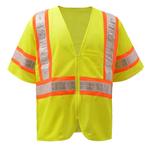 Class 2 LED Lights Safety Vest