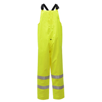 Class E Safety WaterProof Bibs - Lime