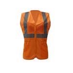 Class 2 Lady's Safety Vest - Orange