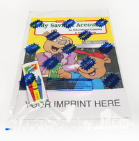 My Savings Account Coloring and Activity Book Fun Pack