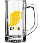 12.5 oz. Deco Mug Glass