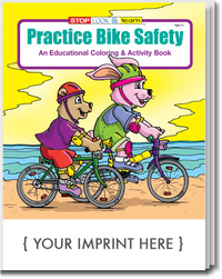 Practice Bike Safety Coloring and Activity Book