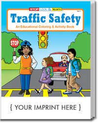 Traffic Safety Coloring and Activity Book