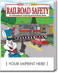 Railroad Safety Coloring and Activity Book