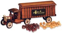 1930-Era Tractor-Trailer with Chocolate Almonds & Ca