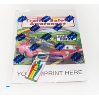 Traffic Safety Awareness Coloring Book Fun Pack