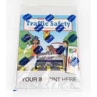 Traffic Safety Coloring and Activity Book Fun Pack