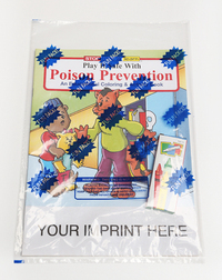 Play It Safe Poison Prevention Coloring/Activity Book Pack