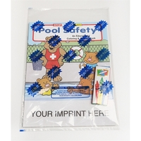 Pool Safety Coloring and Activity Book Fun Pack