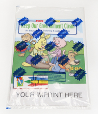 Keep our Environment Clean Coloring Book Fun Pack